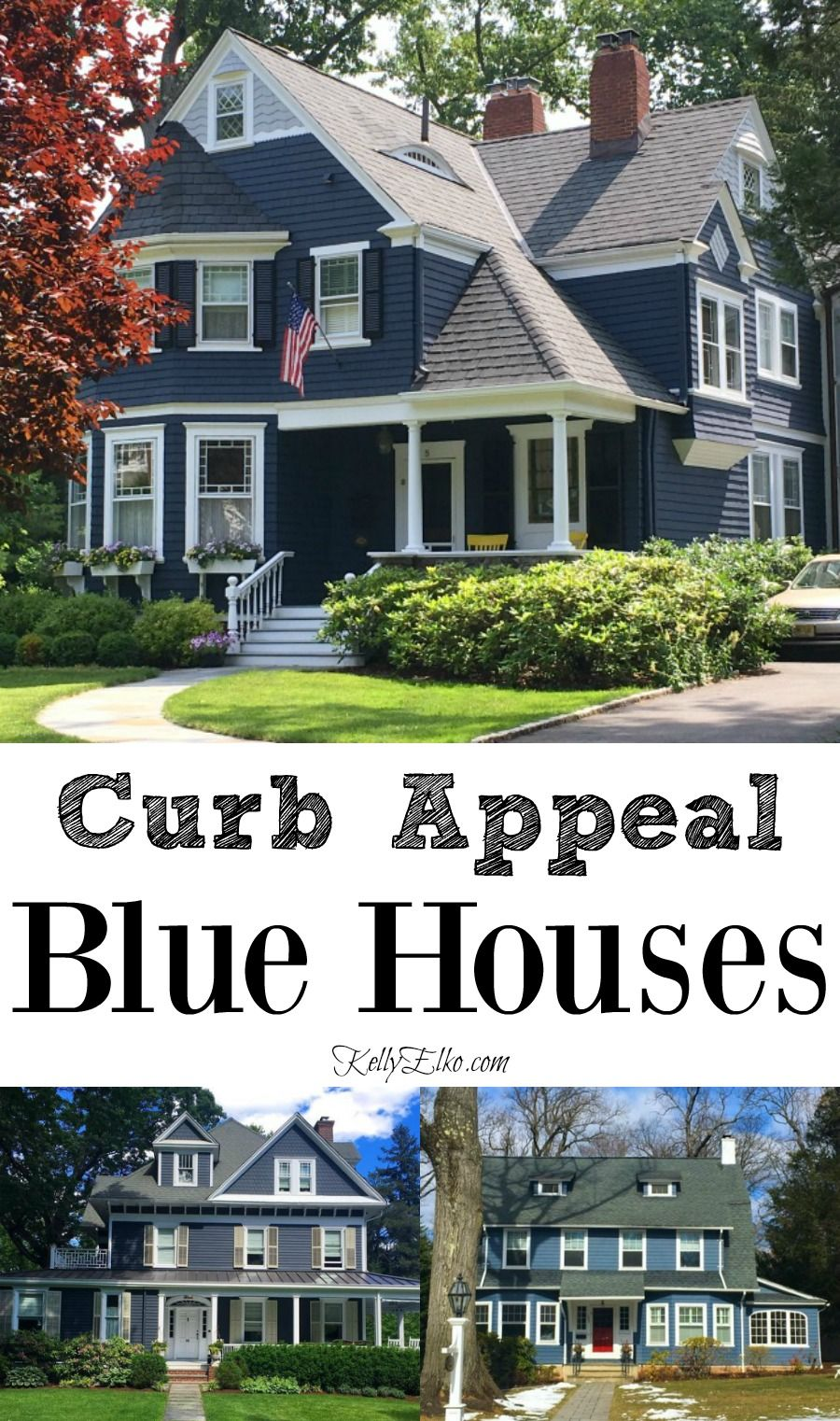 Little Blue Houses And A Big Change Blue Homes Exterior