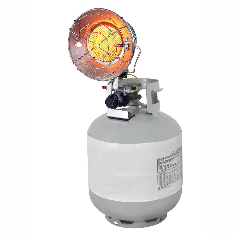 15,000 BTU Portable Propane Radiant Tank Top Heater with