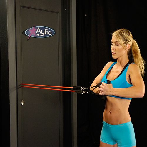 Ab Twist With Resistance Bands