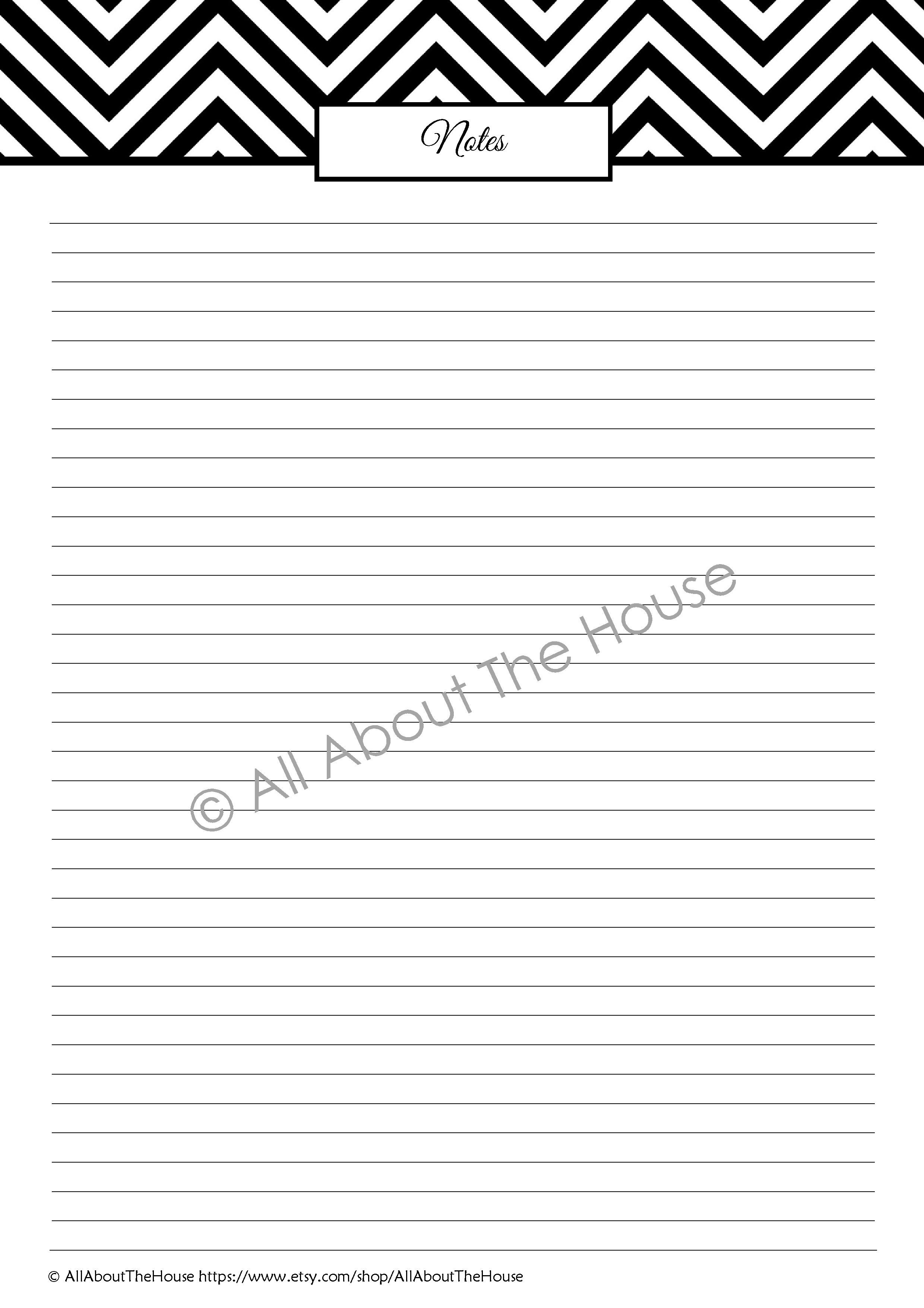 Note Paper from the Important Information Set. Available in 5 colours from: https://www.etsy.com/shop/AllAboutTheHouse?ref=si_shop