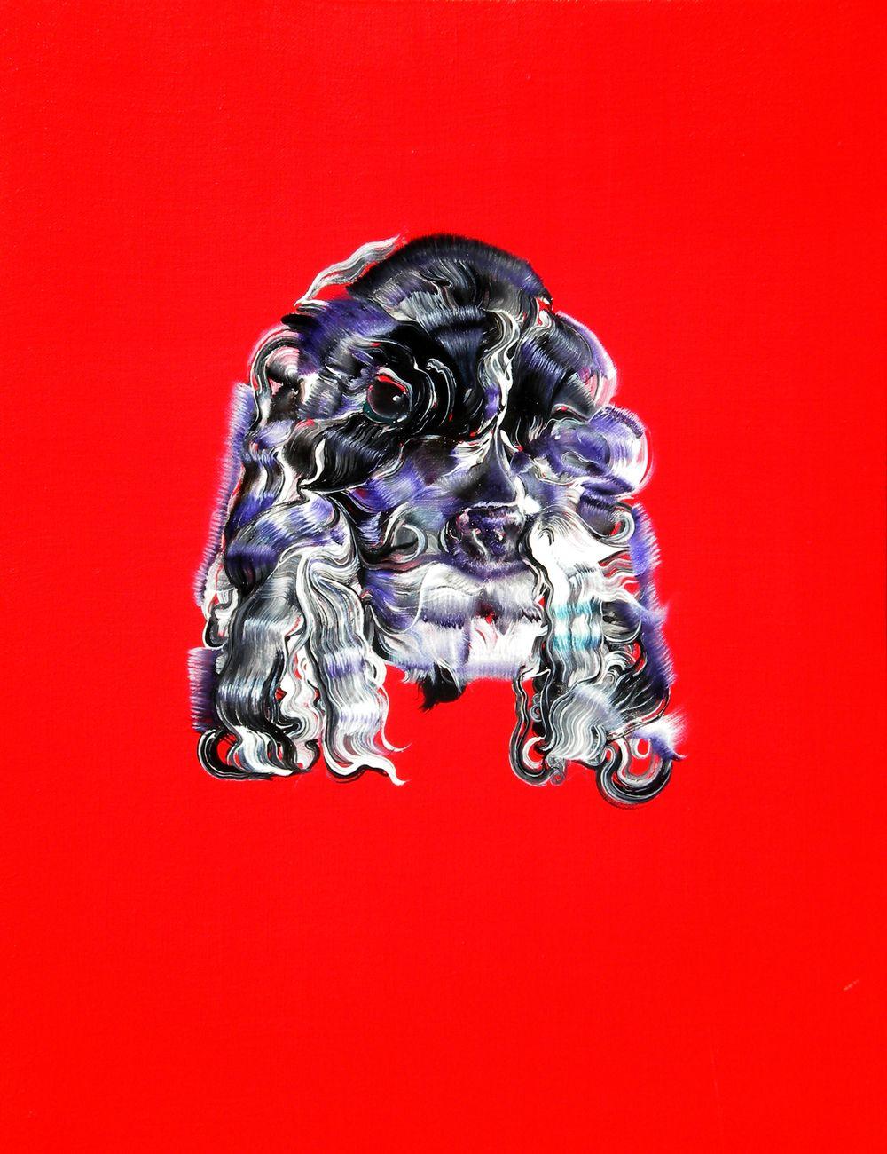 DOG 50cm X 60cm   布面油画 Oil on Linen