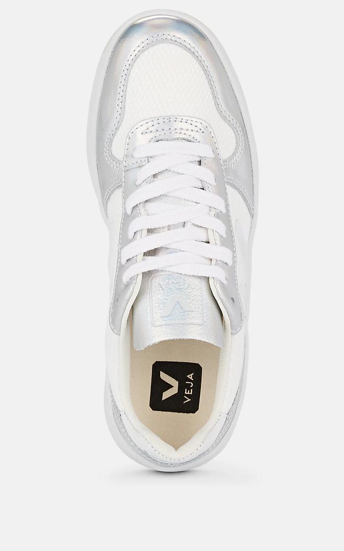 Leather \u0026 Mesh Sneakers | Barneys