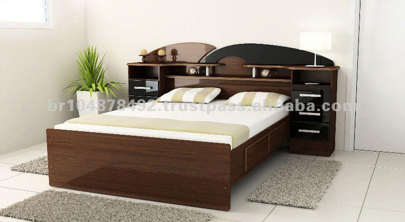 Muebles jose y maria camas de madera buscar con google for Cama matrimonial moderna grande