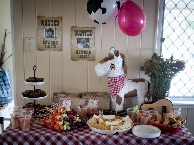 Ideas For A Kids Cowboy Birthday Party