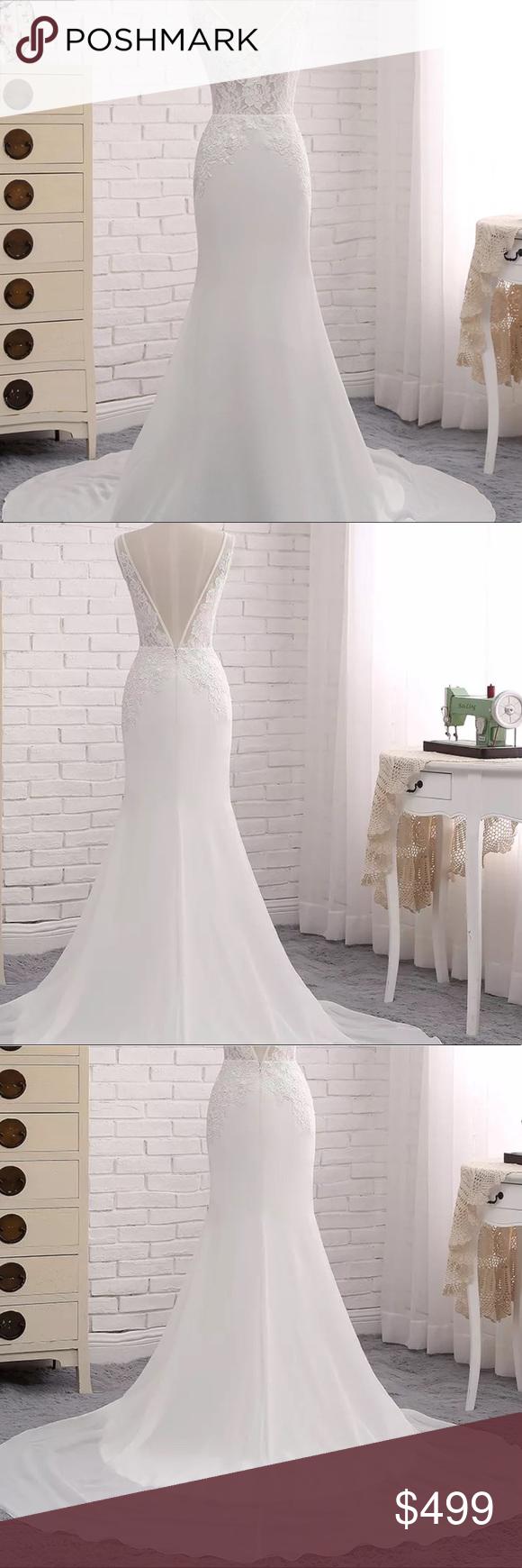 Bohemian lace flowy wedding dress nwt flowy wedding dresses