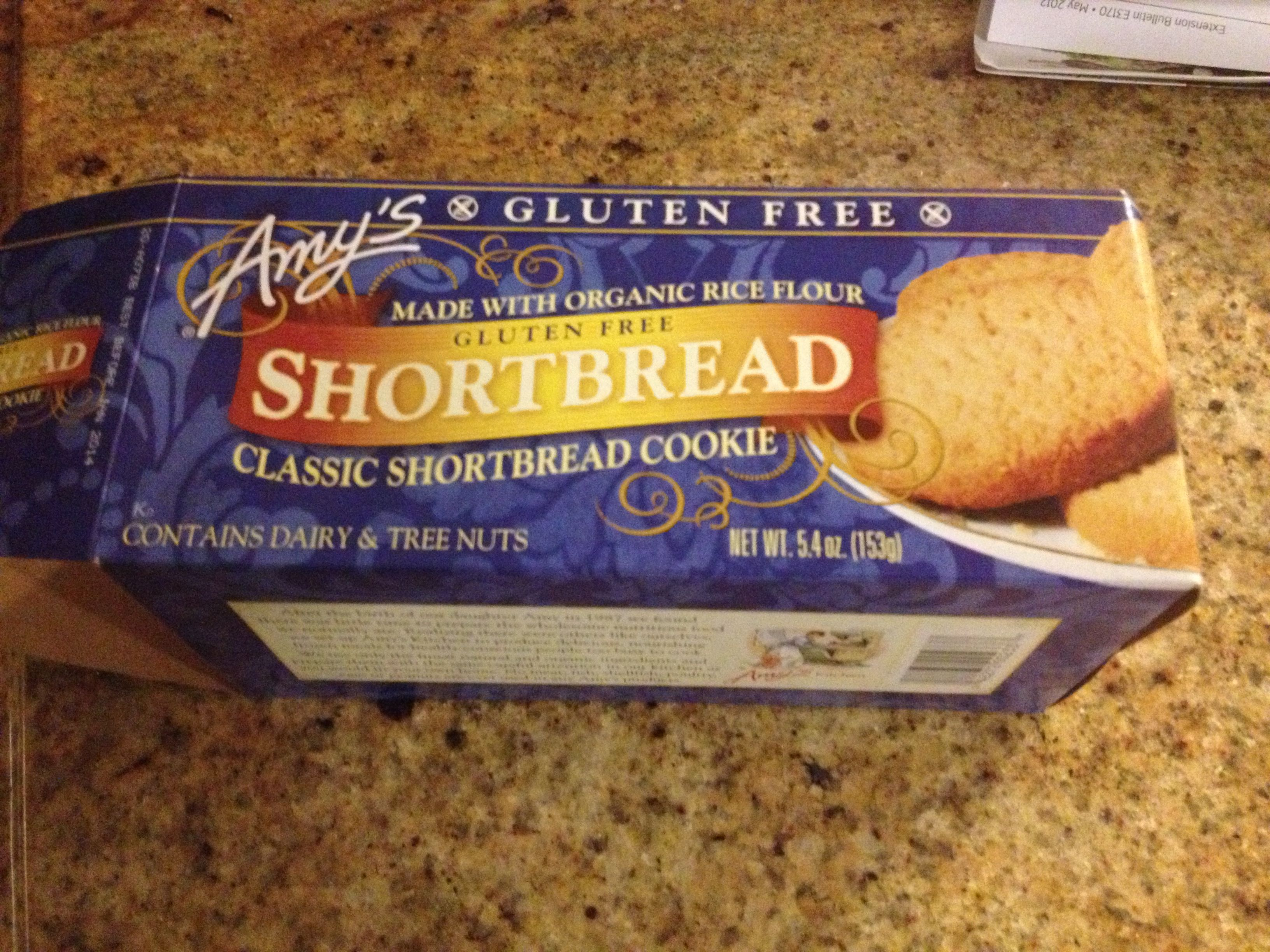 gluten free shortbread cookie | Gluten Free Products, Reads, and Plac ...