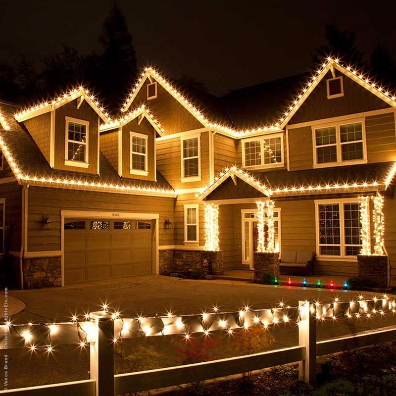 Christmas Roof Decorating Ideas Roof Christmas Lights Hanging Christmas Lights Diy Christmas Lights