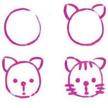How To Draw Easy Animals Easy Step By Step Drawing Tips For Kids Easy Drawings Drawing Lessons For Kids Drawing For Kids