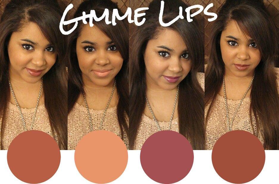 Lip Colors For Mediumdark Skin Tones  Colors For Skin -4270
