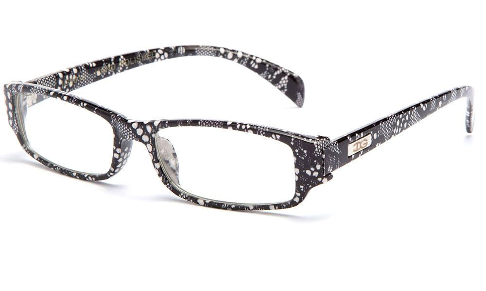 78f79cd1e57 DALIX Womens Italy Patterned Prescription Glasses Frames Rxable ...