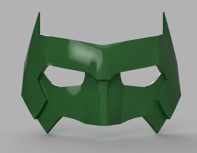 Kyle Rayner Mask Green Lantern 3d Print Model Green Lantern Mask Green Lantern Cosplay Kyle Rayner