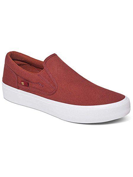 DC Shoes Trase Slip-on T M Shoe Nvy - Zapatillas de Deporte de Lona Hombre 693dc8a956987