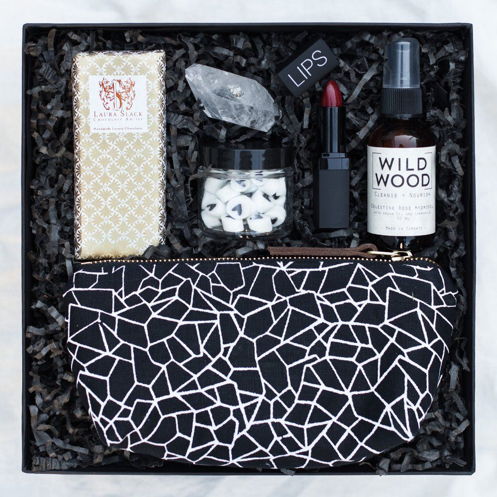 Gift Basket For Bride And Groom Wedding Night: This Fun, Edgy, Gift Box Is Perfect For A