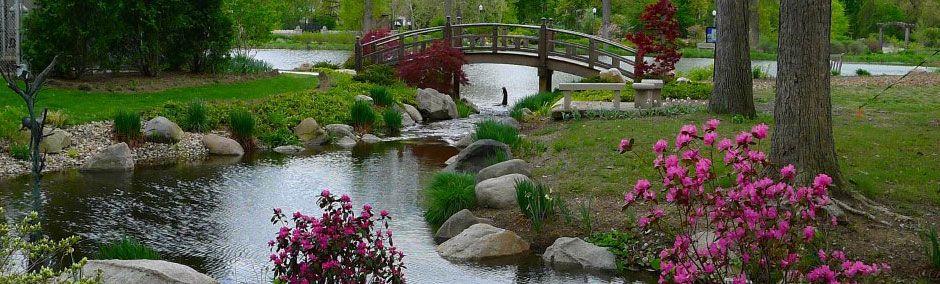 Wellfield Botanic Gardens In Elkhart Indiana