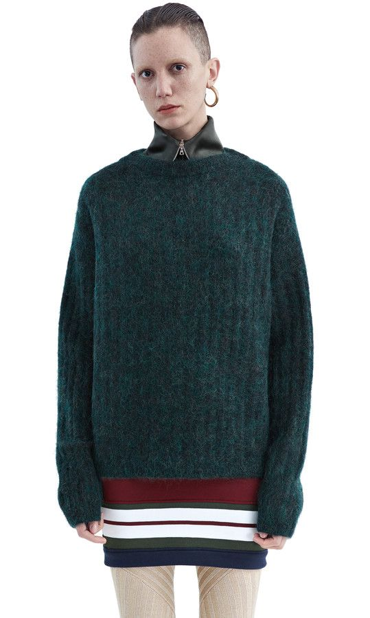 acne forest green