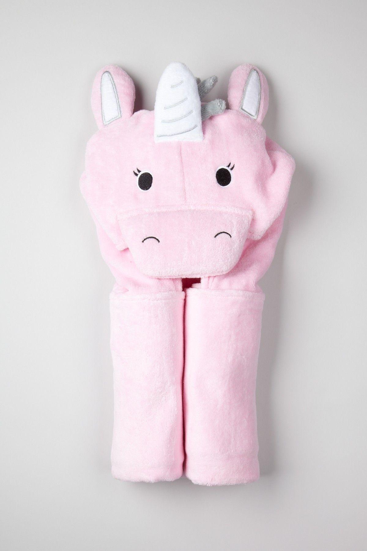 3bd0541b0cbc Unicorn Hooded Towel