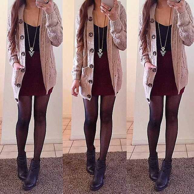 Light Brown Sweater Coat - Outwears and Jackets | Lookbook Store ...