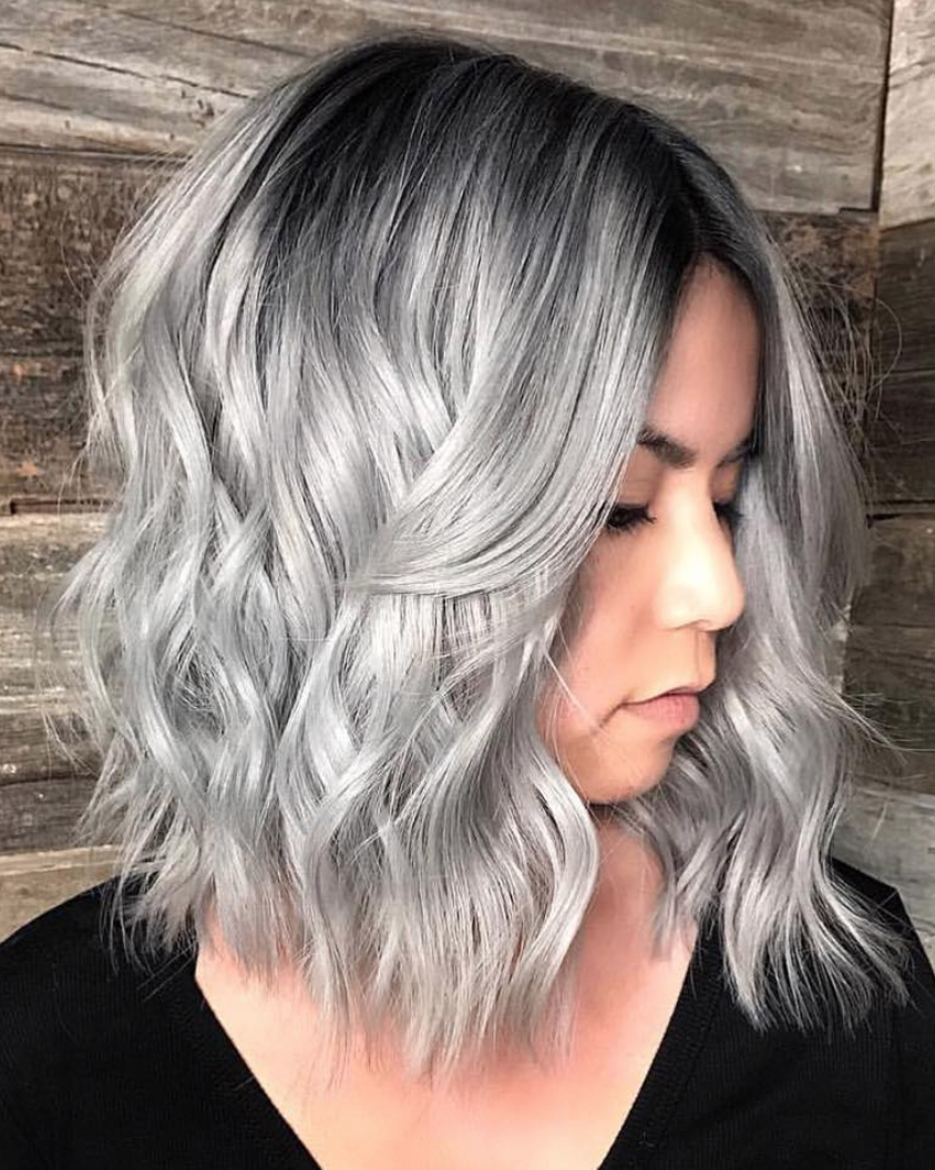8 Ways You Know This Iconic Hair Dye Is For You Everything You Need To Know About Coloring Your Hair In That S Short Silver Hair Hair Styles Short Wavy Hair