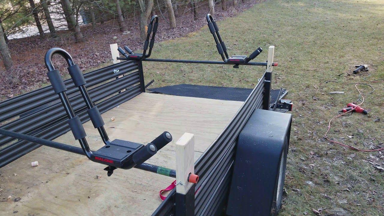 Diy kayak trailer kayak trailer kayaking canoe and kayak