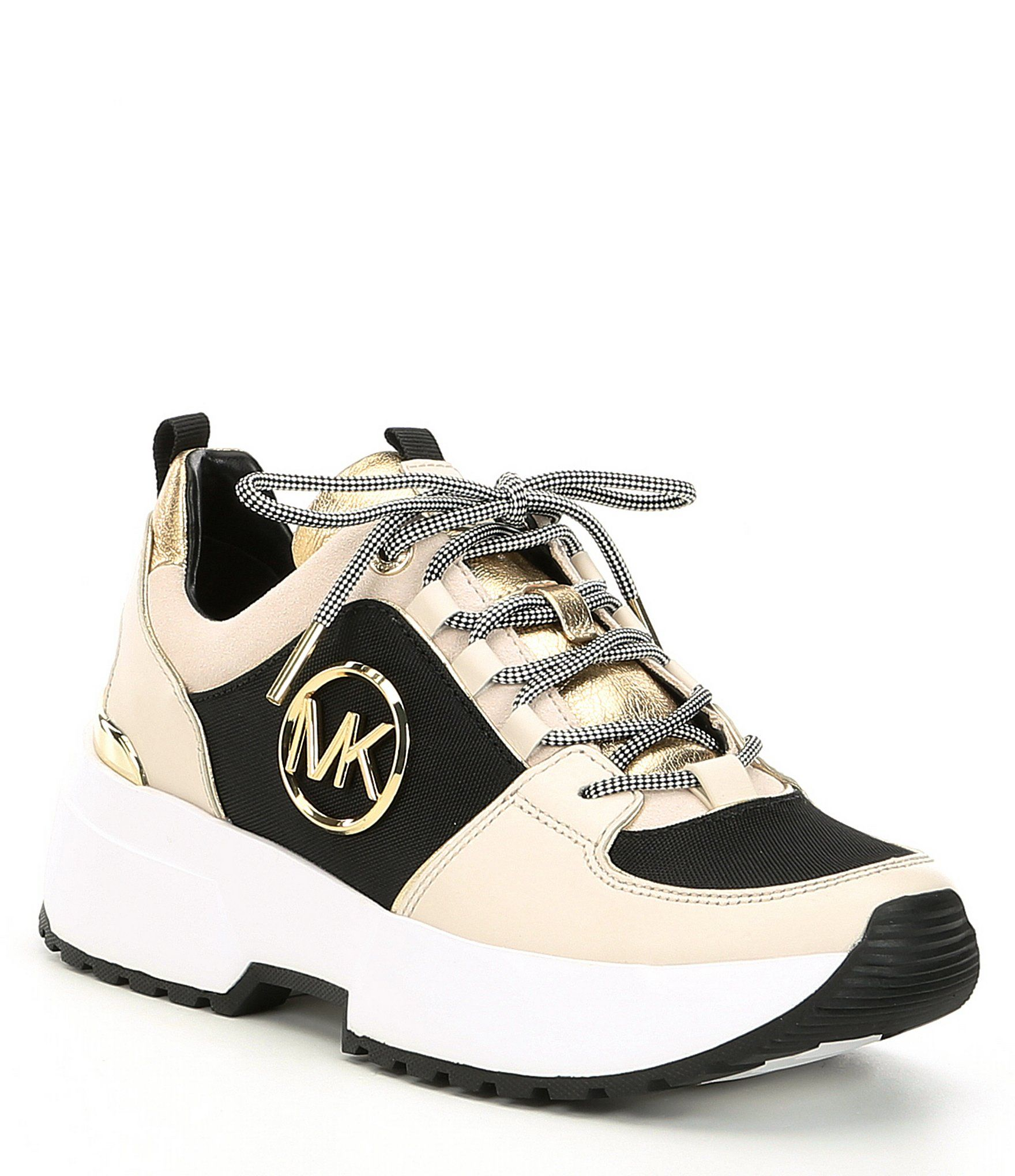 best prices new high quality separation shoes Shop for MICHAEL Michael Kors Cosmo Canvas & Metallic ...