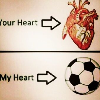 My Heart Yours Soccer Soccer Quotes Football Soccer