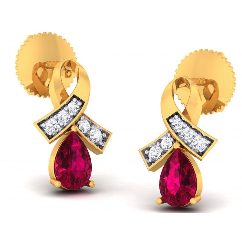 shop for gold diamond earrings online at india s online