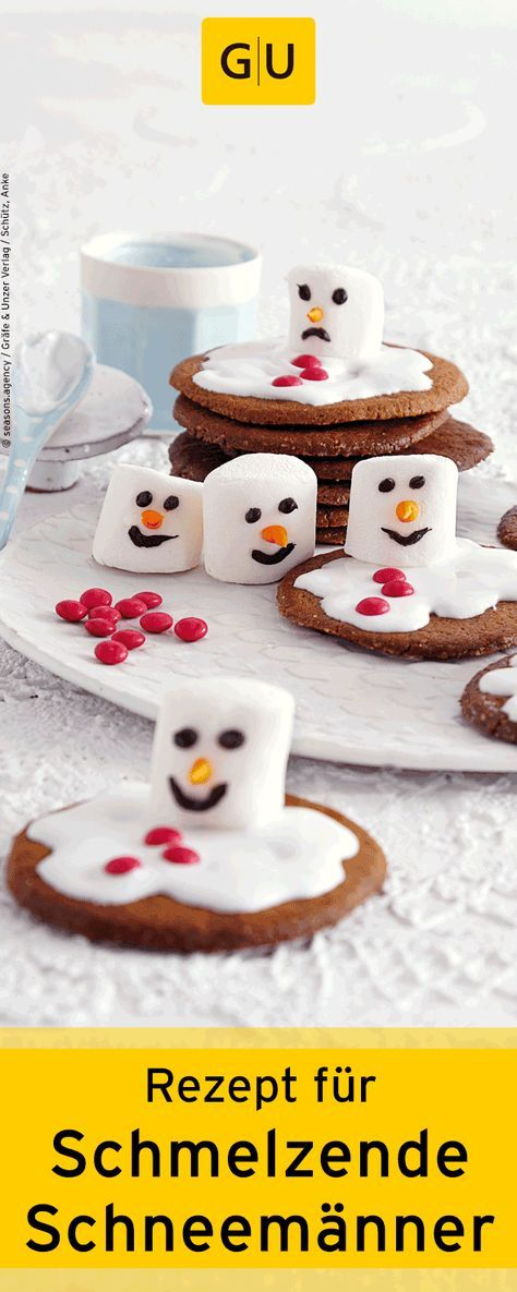 backen f r kinder rezept f r schmelzende schneem nner cookies aus dem buch weihnachts. Black Bedroom Furniture Sets. Home Design Ideas