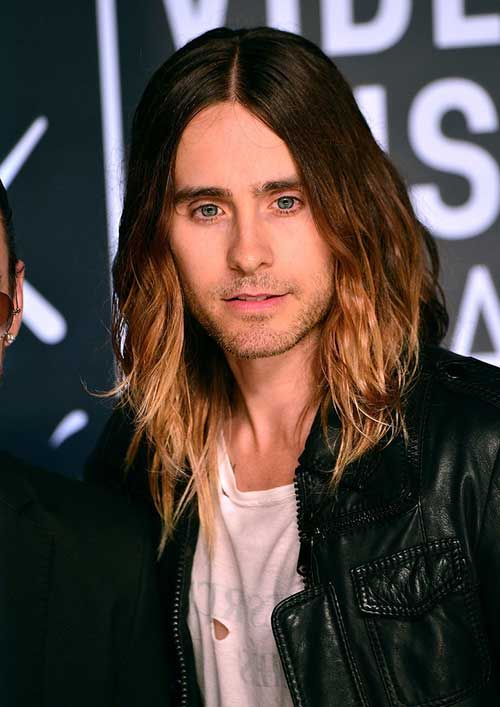 Male Celebs With Long Hair Hair Evolution Jared Leto Haircut