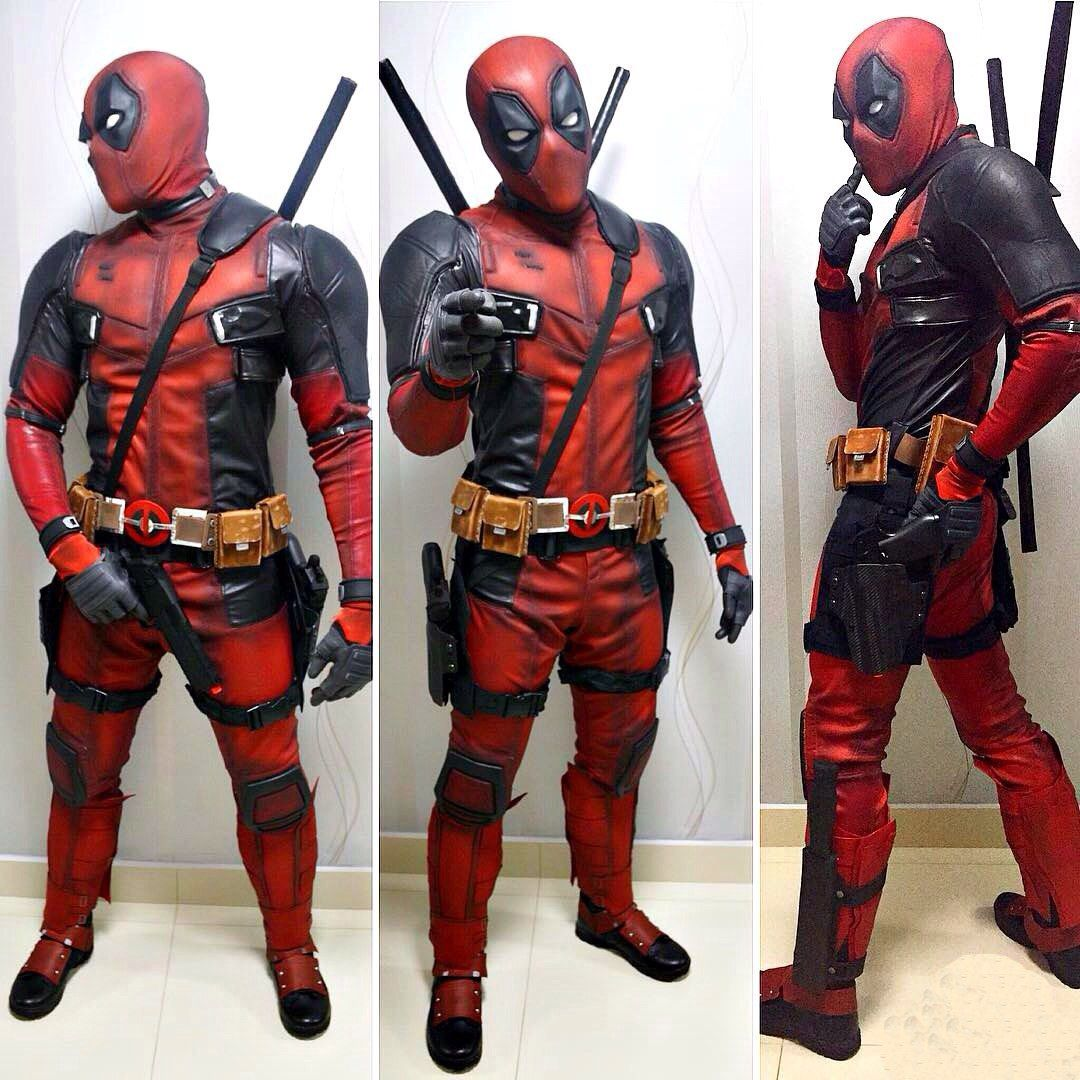 DeadPool cosplay Super Hero shirts 090bc0815835