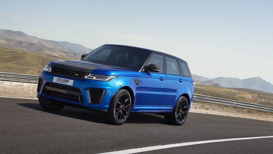 Image result for Range Rover Sport SVR New range rover