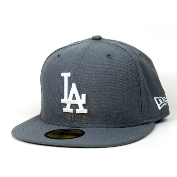 buy popular 5ab55 084fe New Era MLB League Basic LA Dodgers Cap in Storm Gray for £24.99 from Urban  Surfer
