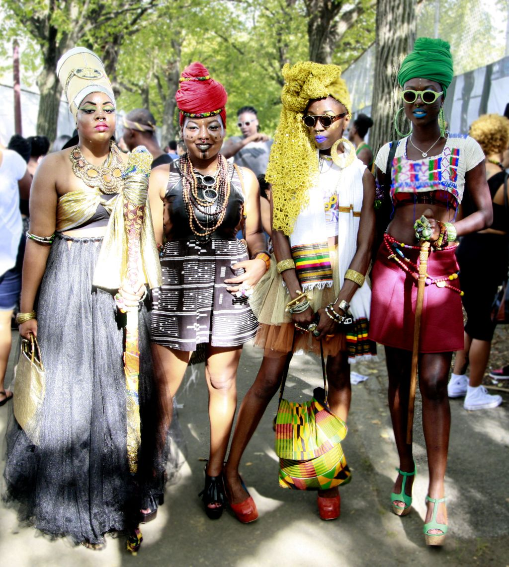 Female Afro Punk Fashion: They Are Wearing: Afropunk Fest In Brooklyn