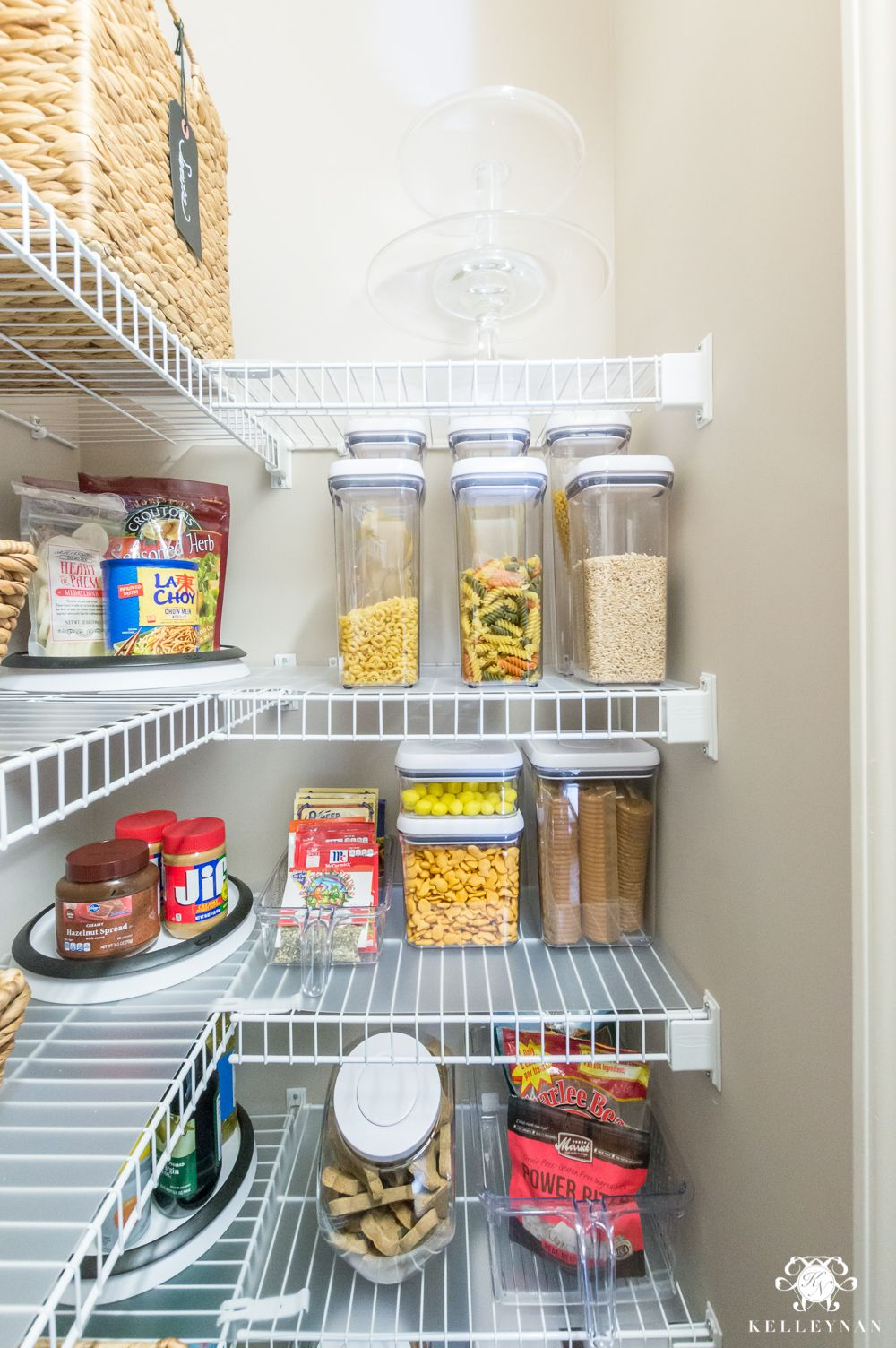Nine Ideas To Organize A Small Pantry With Wire Shelving Pantry