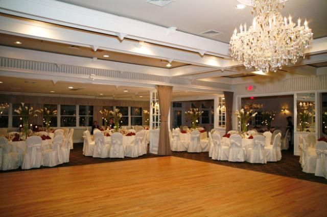 Bellport Country Club Ball Room Now Has Diffe Chairs
