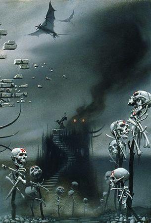 Lovecraft S Nightmare A Detail 3 By Artist Michael Whelan Dark Fantasy Art Background Images Hd Horror Art Photo editing horror hd background