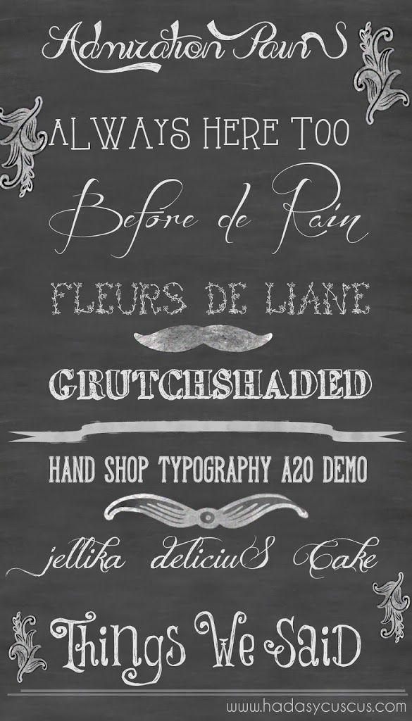 Mi lista de fuentes o tipografías vintage para descargar