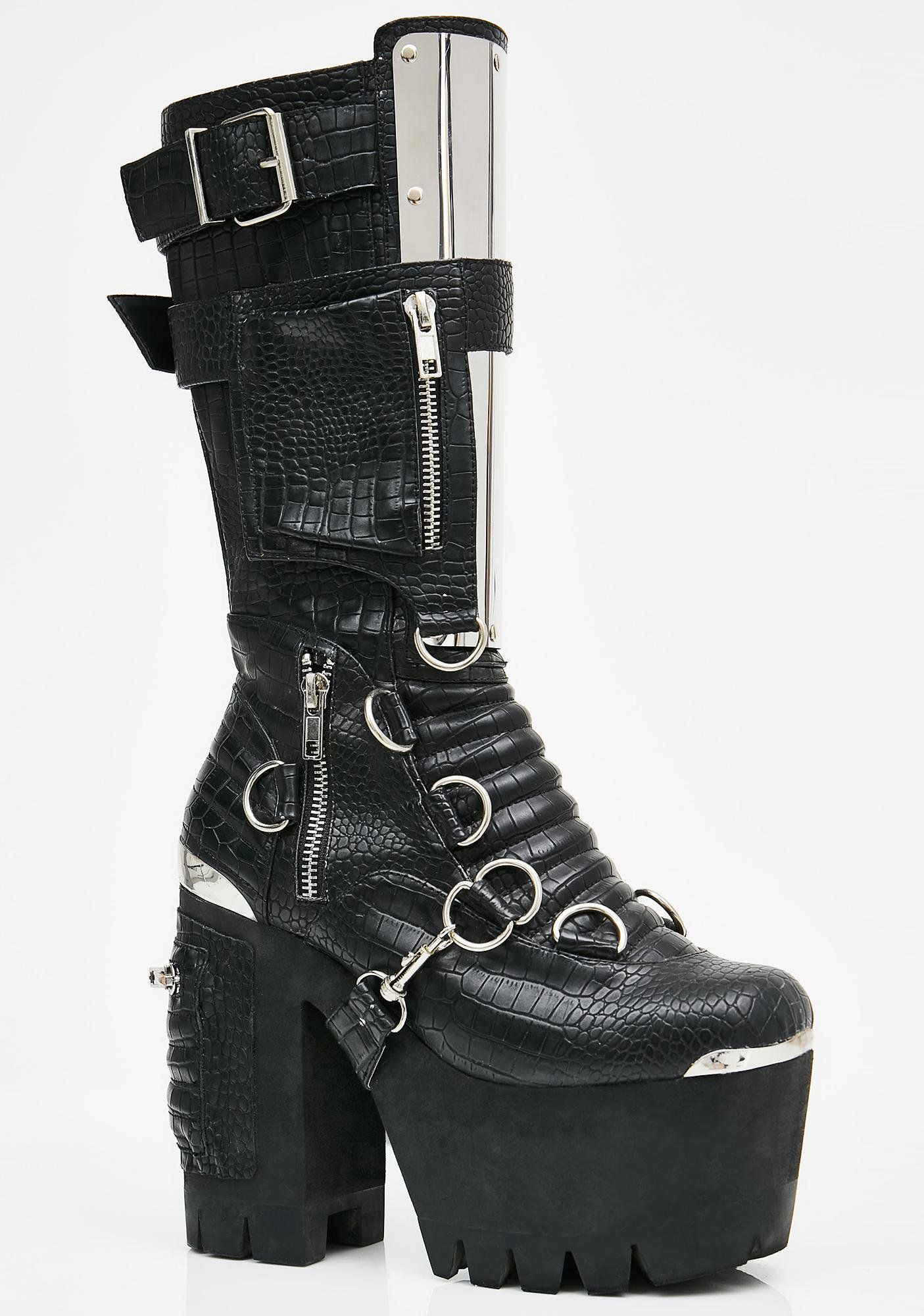 Obsidian Wasteland Buckle Boots | Boots