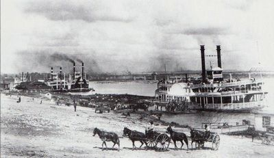 1895 - The wharf. University of Louisville Photographic Archives