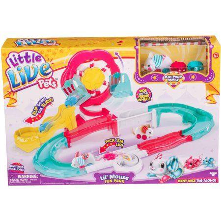 Little Live Pets S3 Lil Mouse Fun Park Trail Walmart Com Little Live Pets Pet Mice Pets