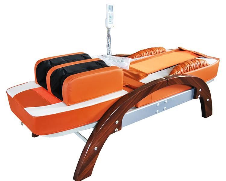 Fir far infrared massage jade bed spinal traction table w