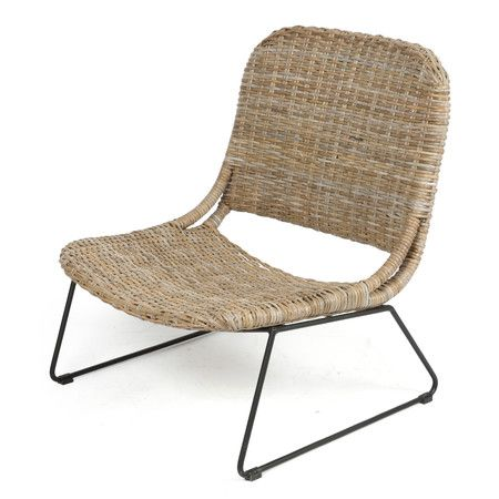 The Kojuana Lounge Rattan Chair With Metal Legs Is A Furniture Product By  Casa Uno Which Is Strong, Durable And Ideal For Everyday Use. Items By The  Casa . Idea