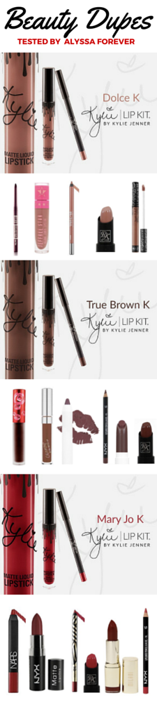 Kylie Jenner Lip Kit Dupes Parsel Shop the content that