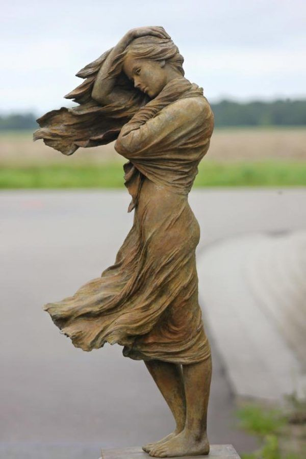 Large Bronze Lady Justice Sculpture