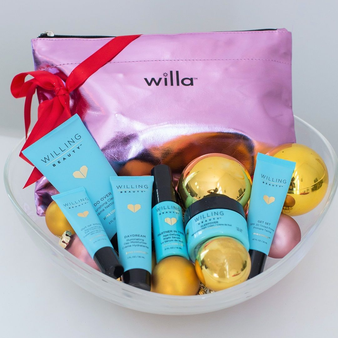 Willing Beauty, gift sets now available! Whether you're
