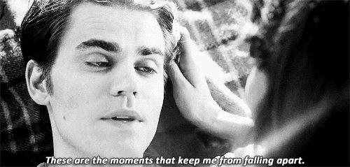 The vampire diaries - Stefan and Elena days