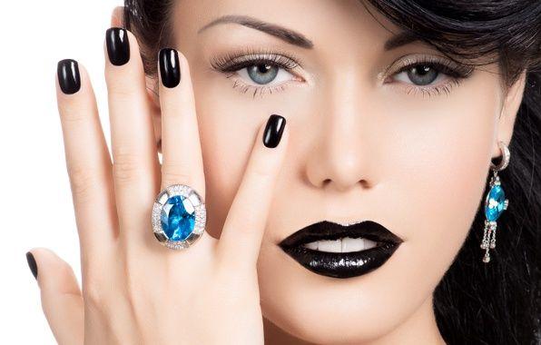 black nails - Recherche Google