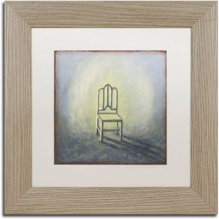 Trademark Fine Art \'Chair\' Canvas Art by Rachel Paxton, White Matte ...