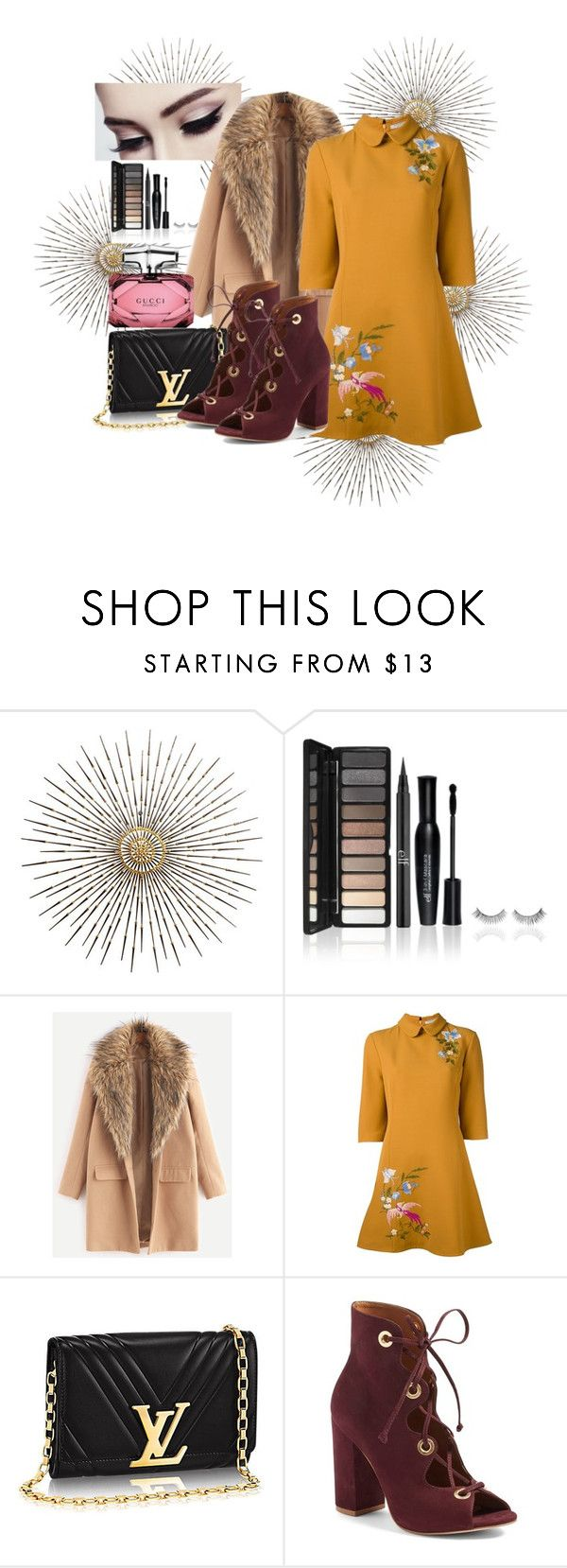 """Untitled #808"" by brandi-gurrola on Polyvore featuring VIVETTA, Steve Madden and Gucci"
