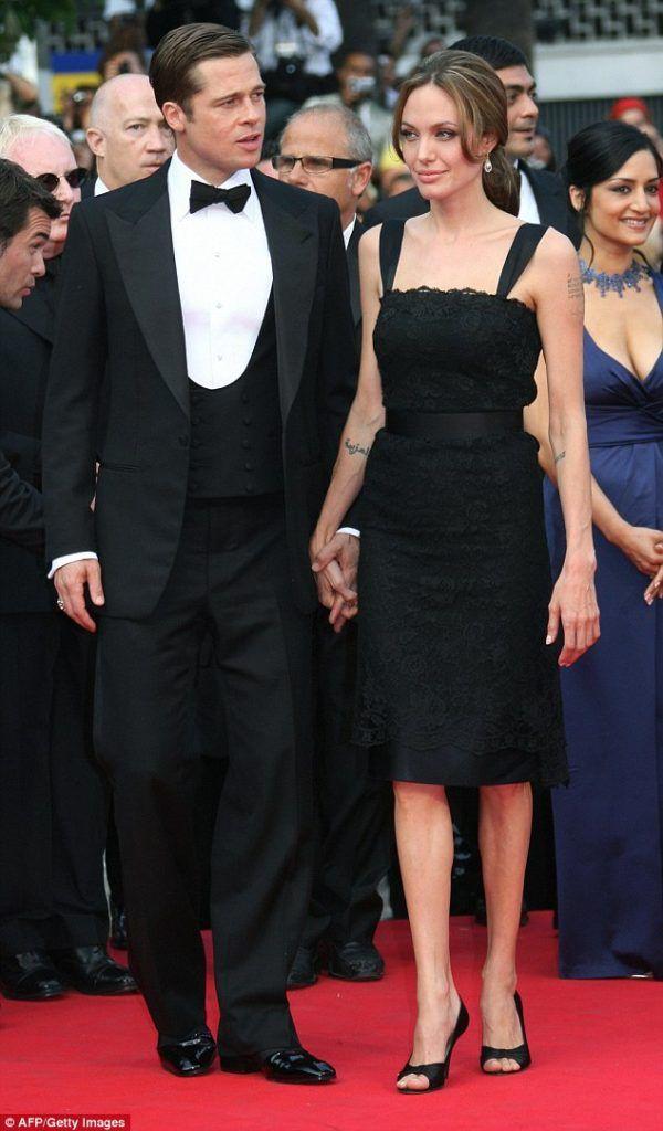 Brad Pitt And Angelina Jolie Best Red Carpet Looks Angelina Jolie Red Carpet Red Carpet Looks Brad Pitt And Angelina Jolie