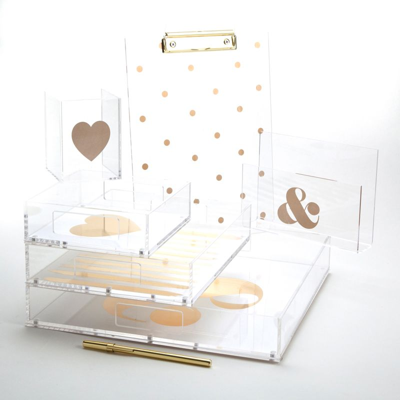 Stylish But Functional Brighten Up Your Lucite Trays With These Fun Sophisticated Inserts From The Desk Suppliesoffice
